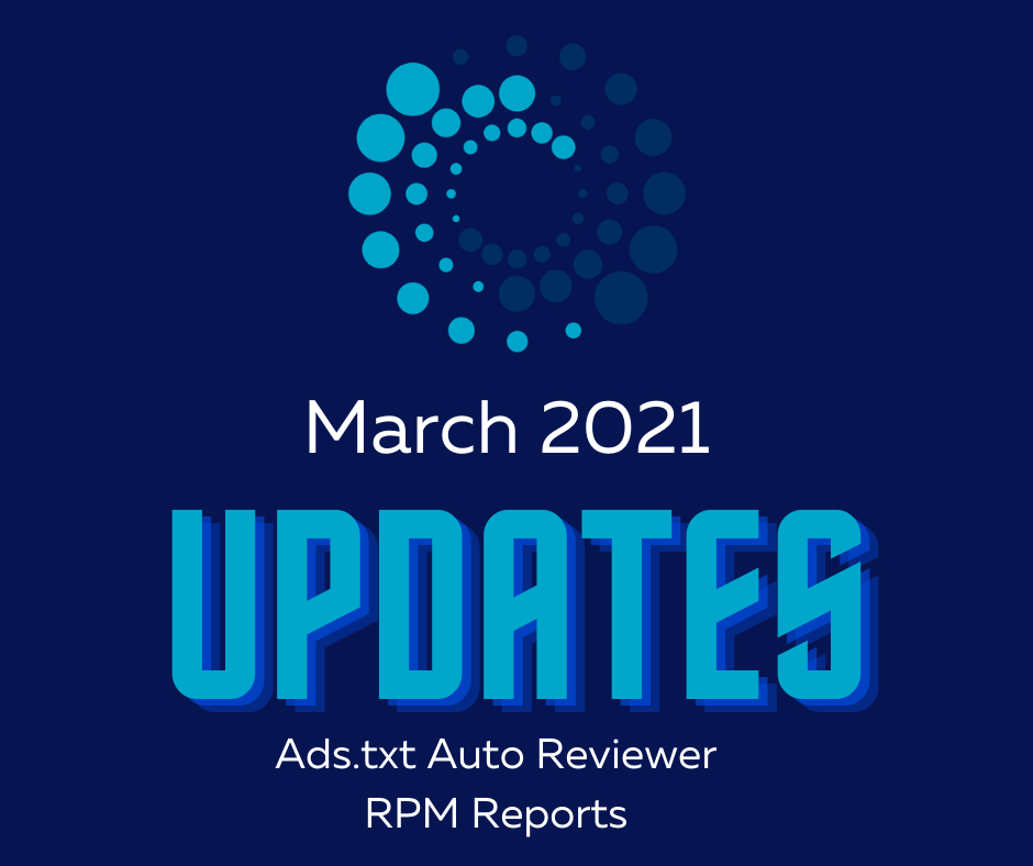 PubWise March 2021 Update